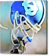 Tarheel Football Helmet Nixo Canvas Print