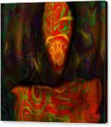 Tarot Candle Canvas Print