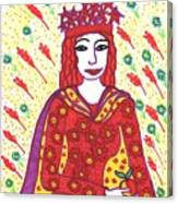 Tarot Of The Younger Self The Empress Canvas Print