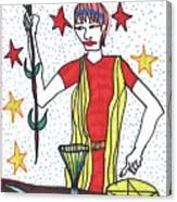 Tarot Of The Younger Self The Magician Canvas Print