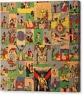 Tarots Canvas Print