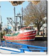 Tarpon Springs Shrimp Boat Canvas Print