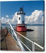 Tarrytown Lighthouse Hudson River New York Canvas Print