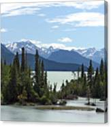 Taseko Lake Canvas Print