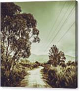 Tasmania Country Roads Canvas Print