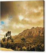 Tasmania Mountain Marvels Canvas Print
