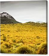 Tasmania Mountains Of The East-west Great Divide  Canvas Print