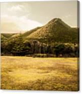 Tasmania West Coast Mountain Range Canvas Print