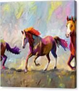 Taste Of Freedom Canvas Print