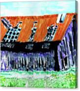 Tattered Prairie Barn Canvas Print