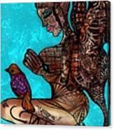 Tattoo Fairy Canvas Print