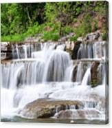 Taughannock Falls Sp 0462 Canvas Print
