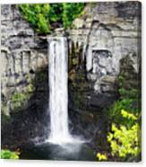 Taughannock Falls View From The Top Canvas Print