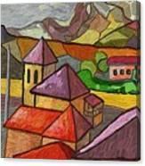 Taulades Canvas Print