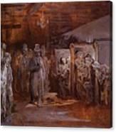 Tavern In Whitechapel 1869 Canvas Print