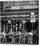 Taverne St. Germain, Paris Canvas Print