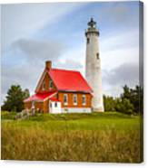 Tawas Point Lighthouse - Lower Peninsula, Mi  Canvas Print