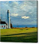 Sturgeon Point Lighthouse Canvas Print