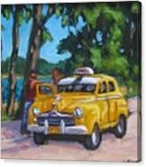 Taxi Y Amigos Canvas Print