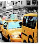 Taxiderby Canvas Print