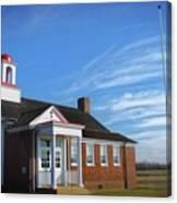 Taylor Bridge School Canvas Print