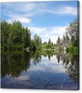 Taylor Creek Reflections Canvas Print