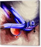 Tc Calligraphy 92 Ar Raqib Canvas Print