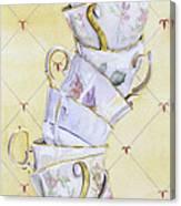 Tea - Ter Totter Canvas Print