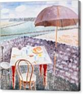 Tea At Furlongs Canvas Print