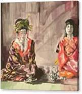 Tea Ceremony Canvas Print