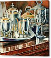 Tea With Marguerite Canvas Print
