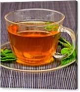 Tea With Mint Canvas Print