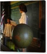Teaching Globe Canvas Print
