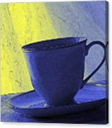 Teacup Canvas Print