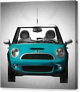 Teal Mini Coopre Canvas Print