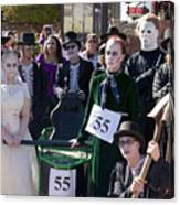Team 55 At Emma Crawford Coffin Races In Manitou Springs Colorado Canvas Print