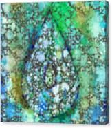 Tears Of Growth Canvas Print