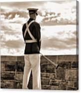 Tech Soldier Canvas Print