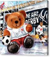 Teddy Bear Ince Canvas Print
