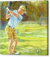 Tee Time Canvas Print