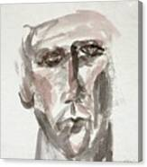 Teen Boy's Portrait Canvas Print