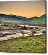 Tehachapi Loop Climb Canvas Print