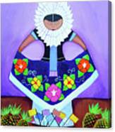 Tehuana Canvas Print