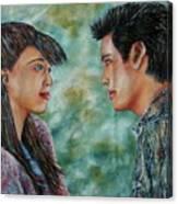 Tele - Skope Canvas Print