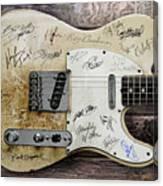 Telecaster Guitar Fantasy Canvas Print