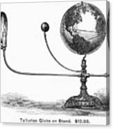 Tellurian Globe Canvas Print