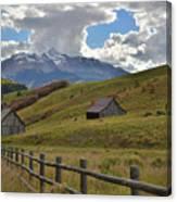 Telluride Countryside Canvas Print