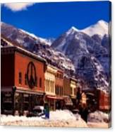 Telluride For The Holiday Canvas Print