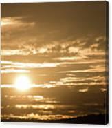 Telstra Tower Sunset Canvas Print