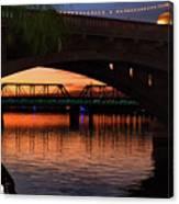 Tempe Bridges Canvas Print